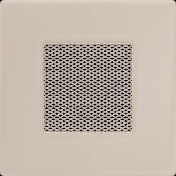 Вентиляционная решетка Kratki 11х11 бежевая стандарт