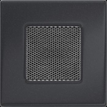 Вентиляционная решетка Kratki 11х11 графитовая стандарт