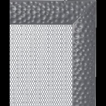 Вентиляционная решетка Kratki 11х11 Venus графитовая стандарт