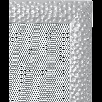 Вентиляционная решетка Kratki 11х11 Venus никелированная стандарт