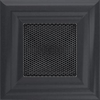 Вентиляционная решетка Kratki 11х11 Оскар графитовая стандарт