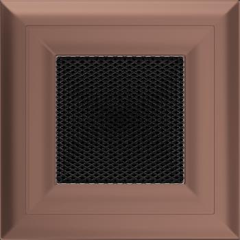 Вентиляционная решетка Kratki 11х11 Оскар медь (гальванизированная)