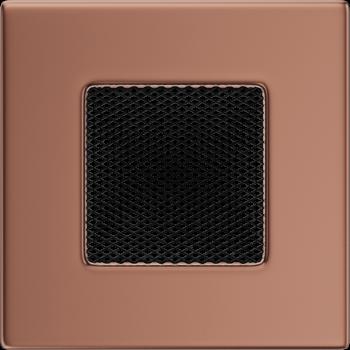 Вентиляционная решетка Kratki 11х11 медь (гальванизированная)