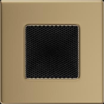 Вентиляционная решетка Kratki 11х11 латунь (гальванизированная)